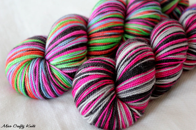 Everything Old - Self striping skeins