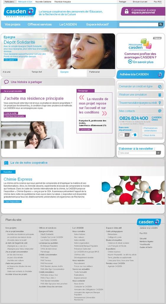 Page d'accueil - Casden.fr