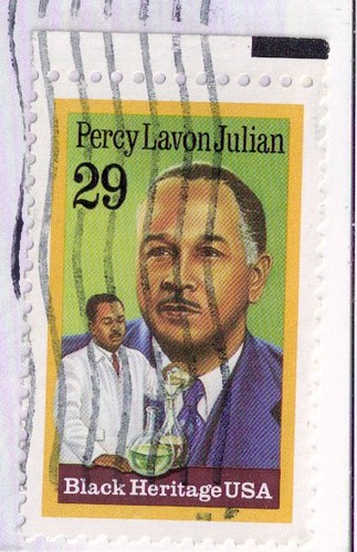USA Stamp-Percy Lavon Julian
