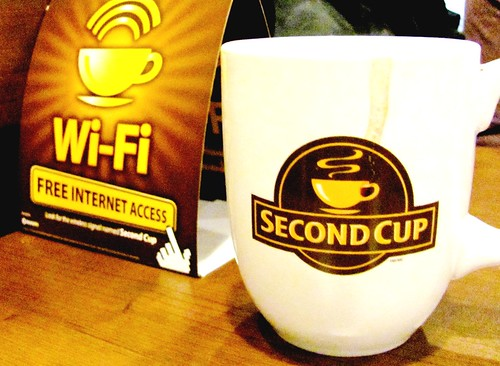 Bayers Lake, Second Cup. Yes, it exists!