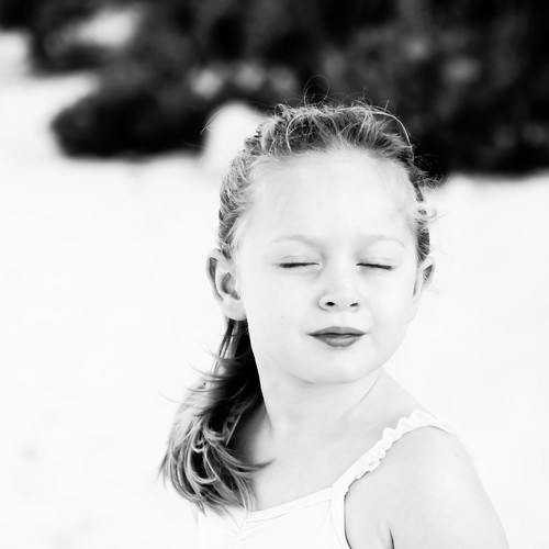 blackandwhite beach girl sunrise sand provo turksandcaicos tci