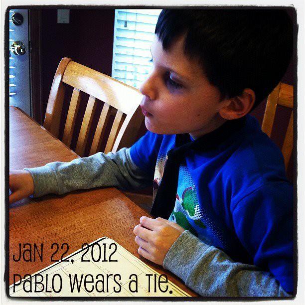 Pablo's Tie.