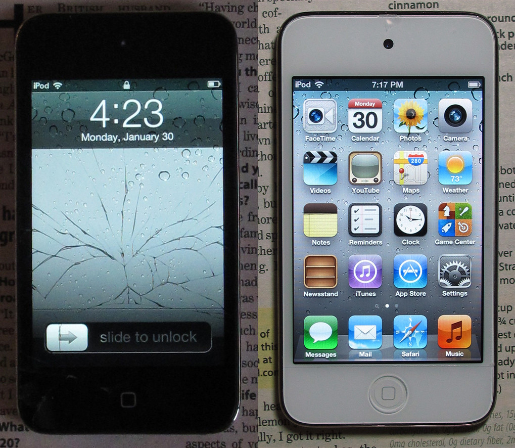 Image Result For Repairing Apple Ipod Touch Screen