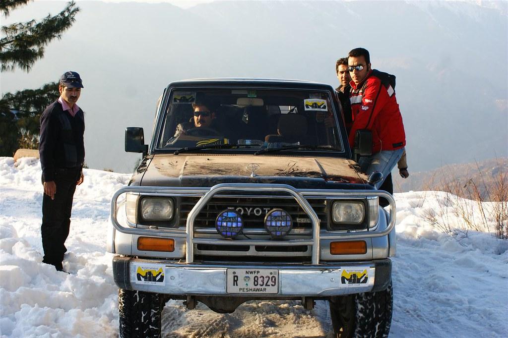 Muzaffarabad Jeep Club Snow Cross 2012 - 6796513675 25a6eb62f5 b
