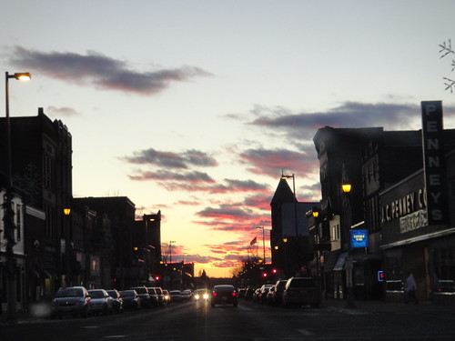 Sunset, 1/6/2012.