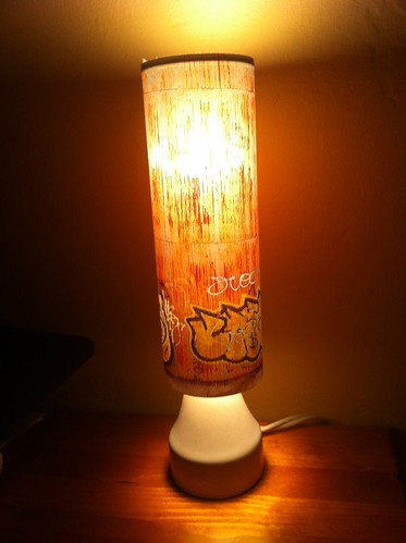 Art: My Graffiti Lamp! by Sanctuary-Studio