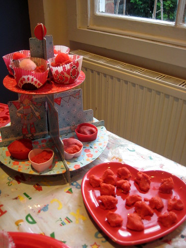 valentine playdough