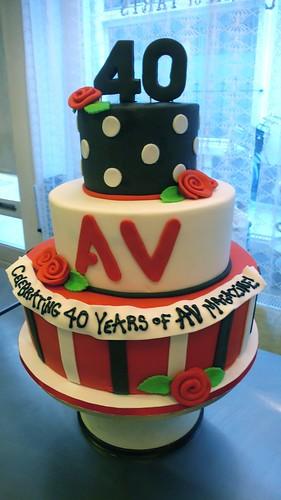 AV Magazine Cake by CAKE Amsterdam - Cakes by ZOBOT