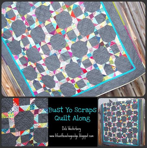 Completed Quilt by Life on the Selvage Edge