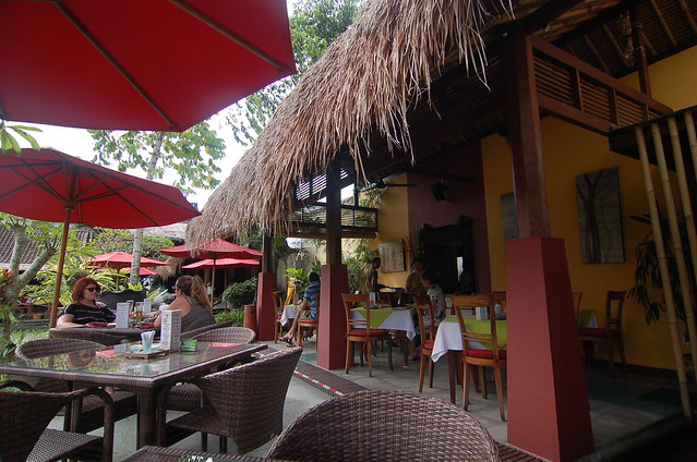 Three Monkeys, Ubud, Bali, Indonesia 印尼 峇里島 烏布 三隻猴子餐廳