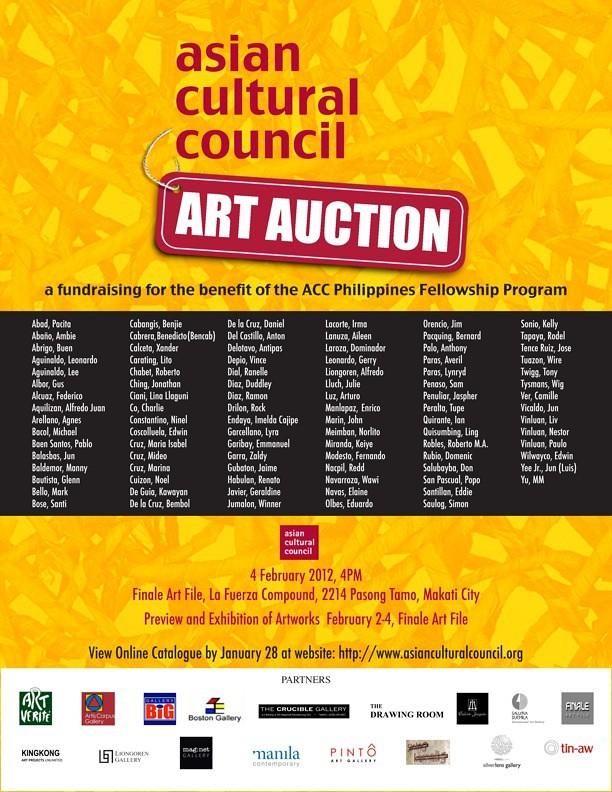 ACC Art Auction 2012 Invite