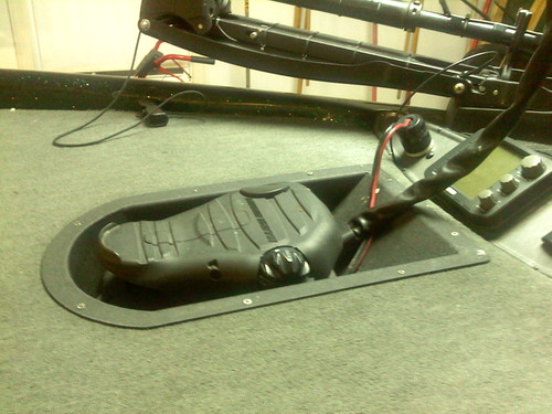 Need A Picture Of A Recessed Trolling Motor Tray In A Tr19