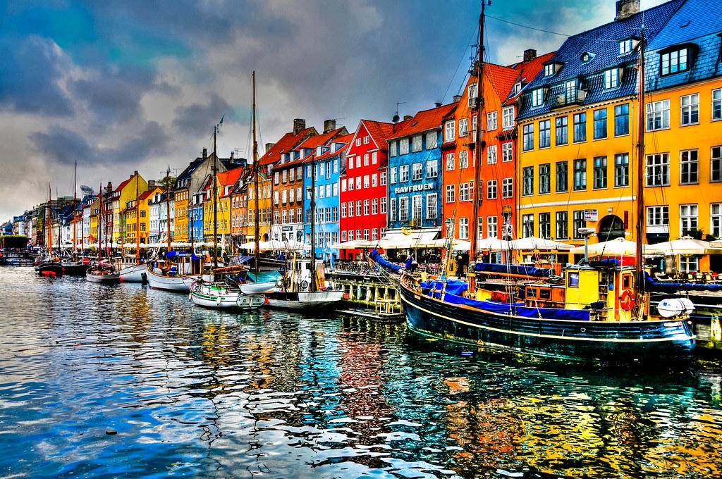 Nyhavn - Copenhagen Denmark