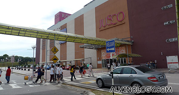 Shopping at Jusco