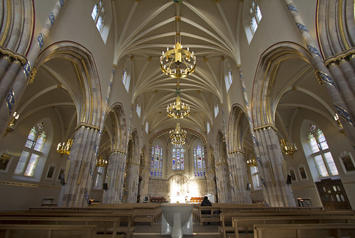 Inside Glasgow's Catholic Cathedral