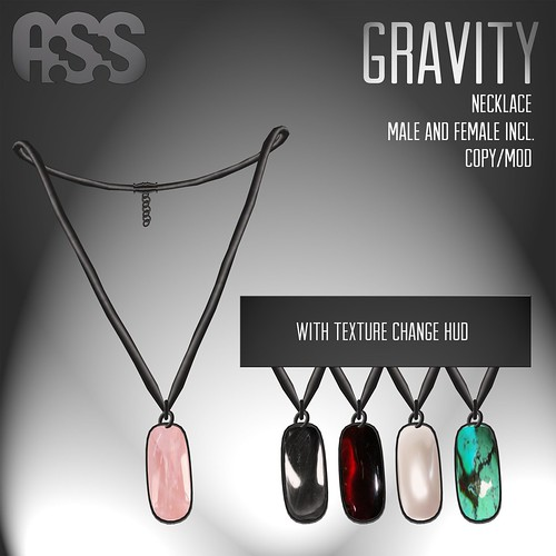 A:S:S - Gravity necklace, for Lazy Sunday by Photos Nikolaidis