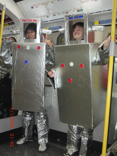 Robots on the tube