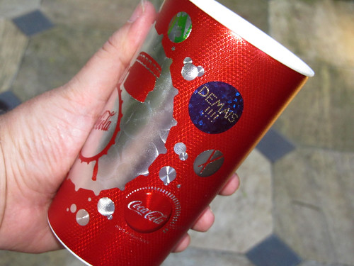 2012 red 2 600 ml cups Summer-Music Coca-Cola promo Rio de Janeiro - det 2 by roitberg