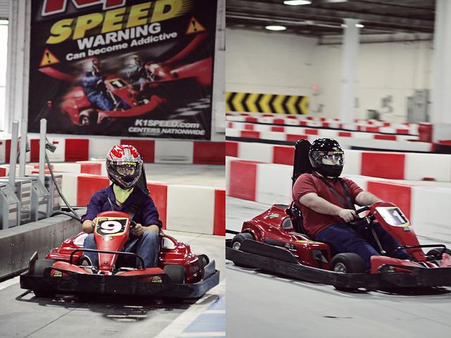 work go-karts 9 diptych