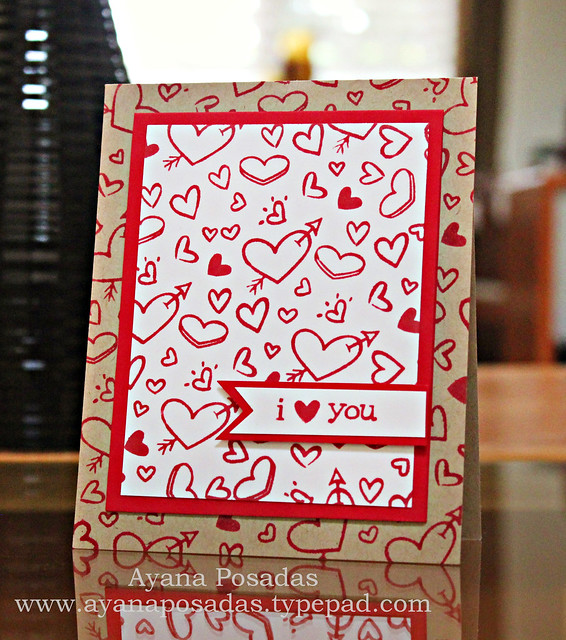 I Heart You- Kraft and Red (2)