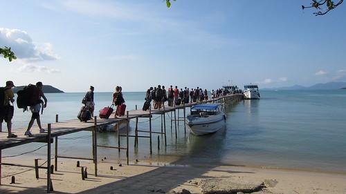Koh Samui Bigbuddha Pier go to Haadrin Koh phangan