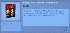 Heavy Metal Titans of Doom Poster
