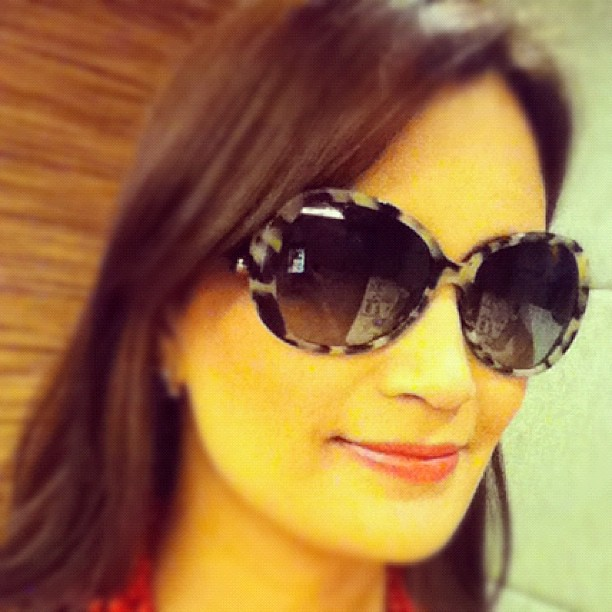 Bulgari sunnies today.