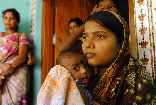 Changing lives: Ante and post natal care for mums and babies in Orissa