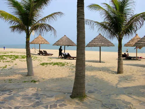Plage de Hoi An China Beach