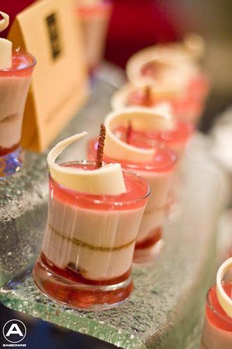 Wild Strawberry parfait