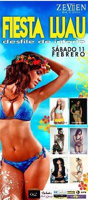 Sabado 11 - Fiesta Luau & Desfile - Zeven Disco & Bar