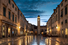 The Dubrovnik Stradun - (Croatia)
