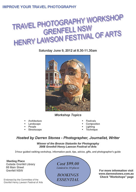 2012 Grenfell Festival Travel Photography Workshop