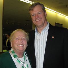 Charlie Baker & Mary Ellen