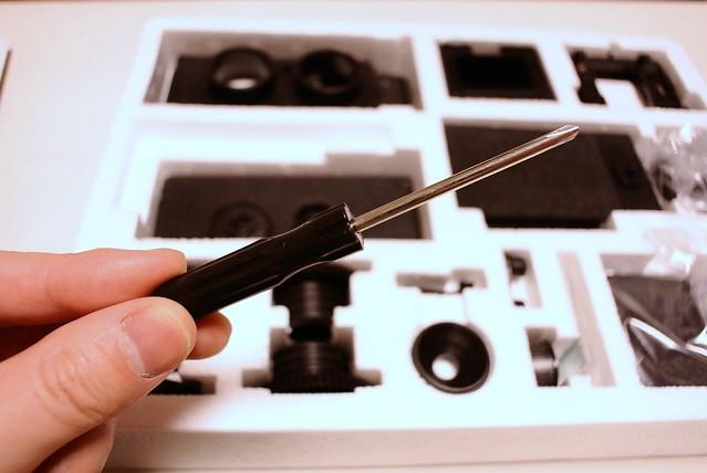 大人の科学マガジン 35mm二眼レフカメラを作る 2014年3月19日