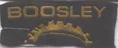 Boosley label from SIF-Tex