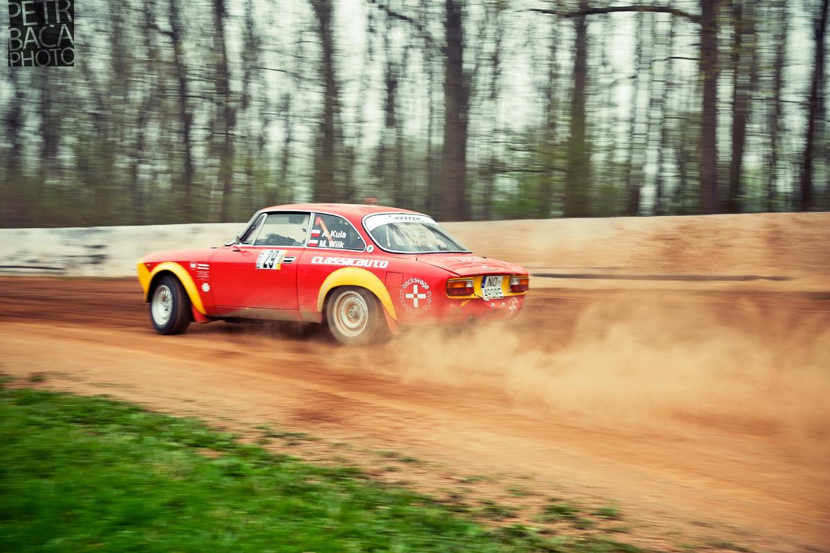 Rallye Praha Revival 2014, RPR, Eda Patera, Chabařovice, plochá dráha, Alfa Romeo,