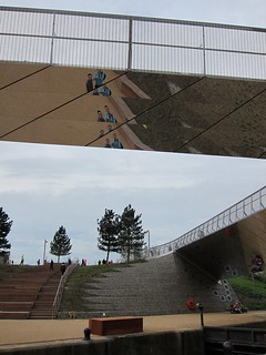 Reflective bridge, Queen Elizabeth Olympic Park