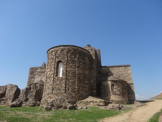 Ruins, Benedictine  Monastery Roses