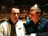 Kyle & Nick at Broadway Grill for last dinner by Nick_Starr