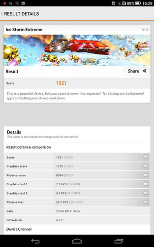 Hiệu năng của ASUS Zenfone 5 RAM 2GB - 21239