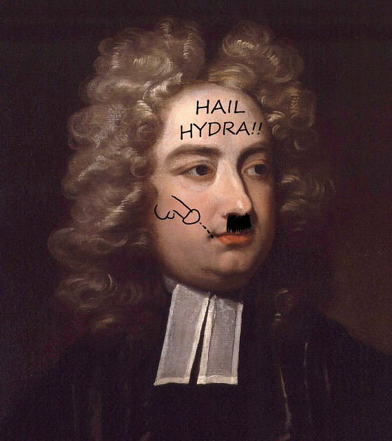 Jonathan Swift by Charles Jervas