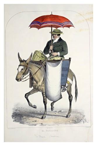 005- El panadero-Recuerdos de Lima, álbum, tipos, trajes y costumbres Vol 2-1857-Bonaffé A.A.