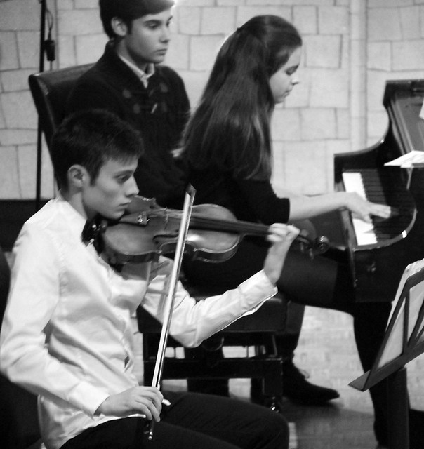 CICLO DE CONCIERTOS DE JÓVENES INTÉRPRETES DEL CONSERVATORIO DE LEÓN 2016 - TRÍO DE CÁMARA (VIOLÍN, CELLO & PIANO) - MIÉRCOLES 27 DE ABRIL´16