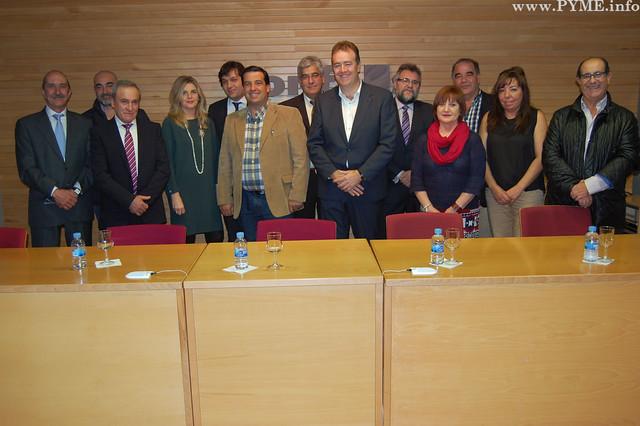 Nuevo Comité Ejecutivo de CONFAES, con Juan Manuel Gómez como presidente.