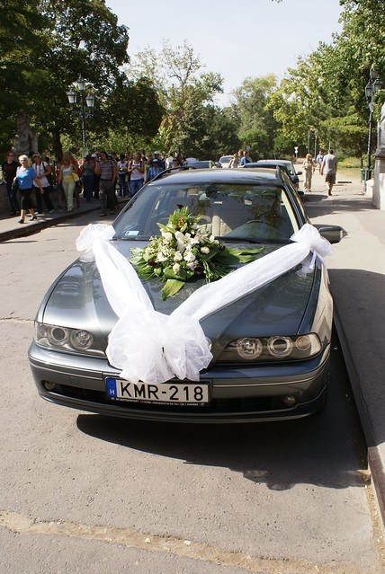 Marriage Car in Budapest