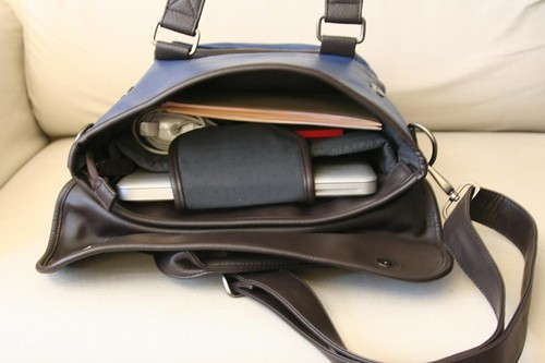 Akiko Laptop Bag from Mamtak Bags (interior)