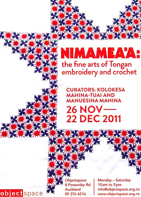 Nimamea'a: The Fine Arts of Tongan Embroidery and Crochet