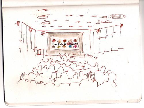 presentación del libro de Jorge Arranz, en el Thyssen, Madrid