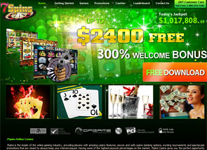 7Spins Casino Home